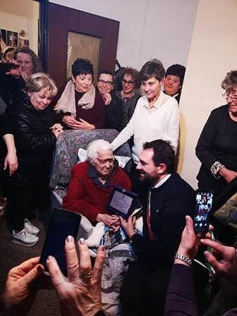 Treglio festeggia i 100 anni di nonna Gisella