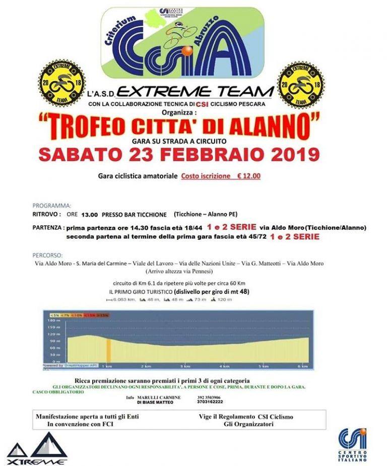"""Ciclismo, risultati importanti da due team abruzzesi. A fine mese il """"Trofeo città di Alanno"""""""