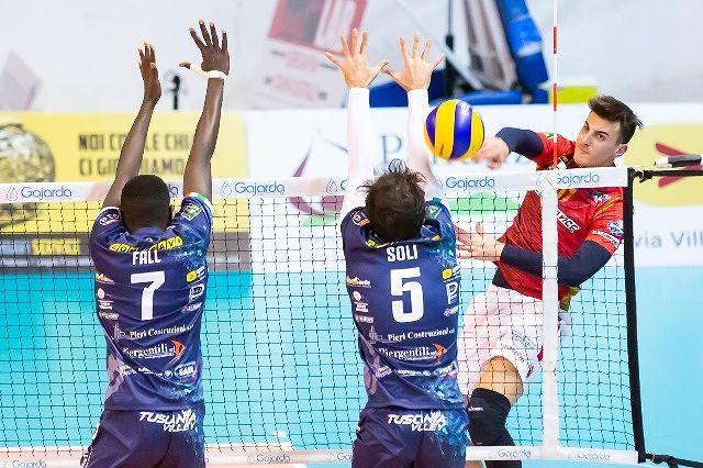 La Sieco si conferma al terzo posto contro Tuscania
