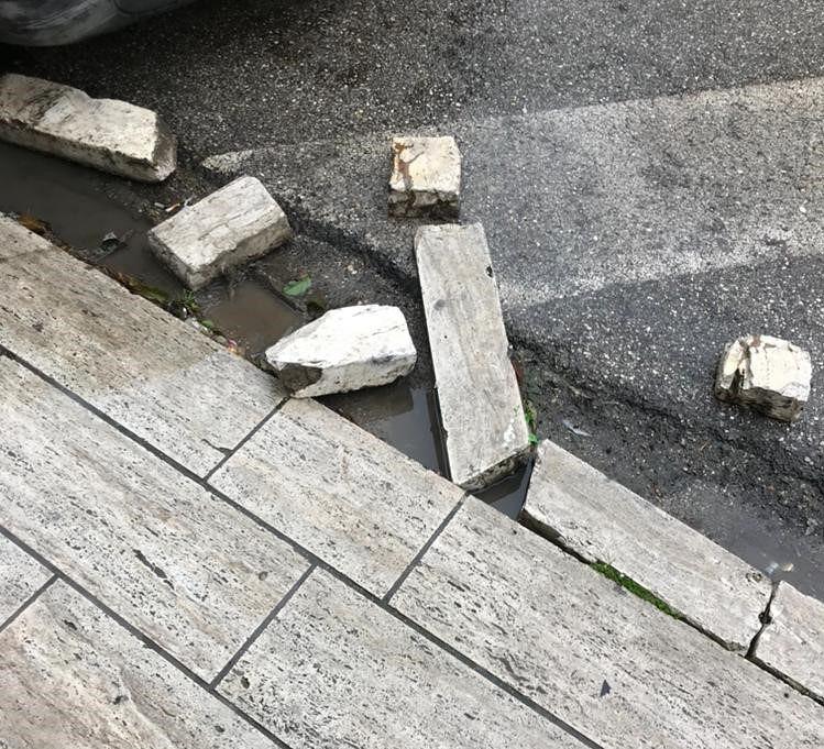 Alba Adriatica, viale della Vittoria e viale Mazzini. Lega con Te: manca la normale manutenzione FOTO