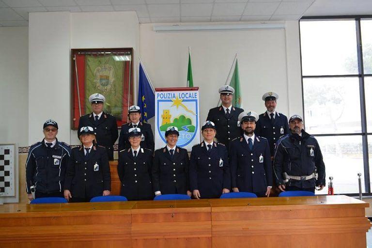 Pineto, festa della polizia locale: consegnate le benemerenze FOTO