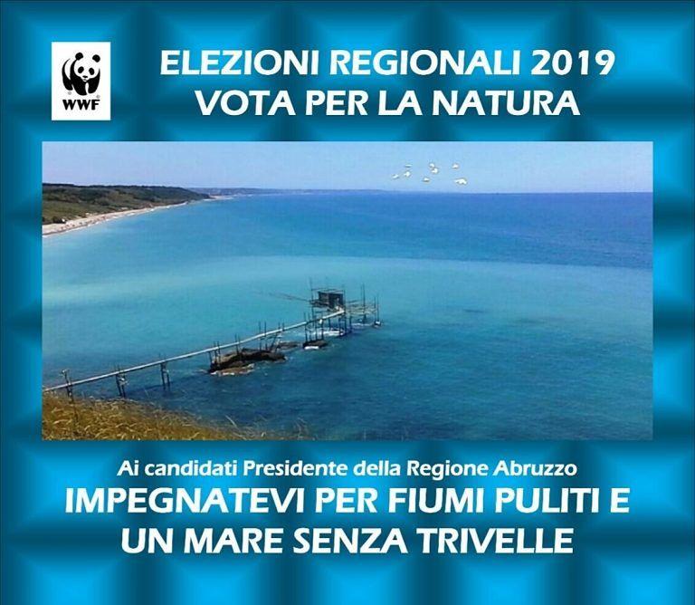"""Campagna social del WWF per """"riportare"""" l'ambiente nella competizione elettorale FOTO"""
