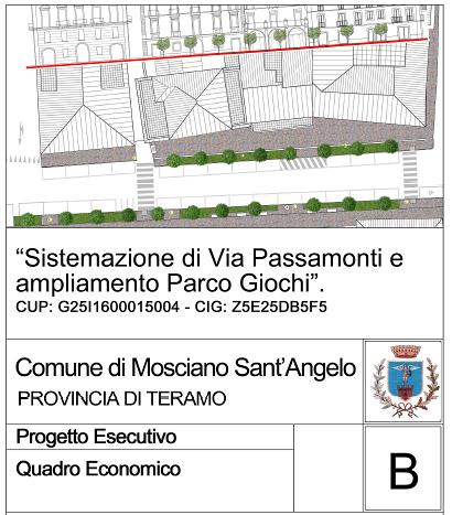 Mosciano, approvato il progetto per il rifacimento di via Passamonti FOTO