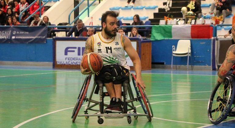 Basket in carrozzina, l'Amiccaci conquista il terzo posto alla Final Four di Coppa Italia
