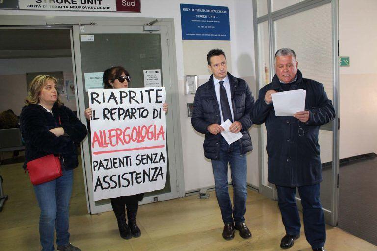 Ospedale Pescara, reparto Allergologia chiuso: chiesto incontro urgente al manager della ASL