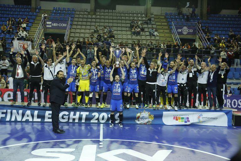 Calcio a 5, l'AcquaeSapone vince ancora la Coppa Italia FOTO/VIDEO
