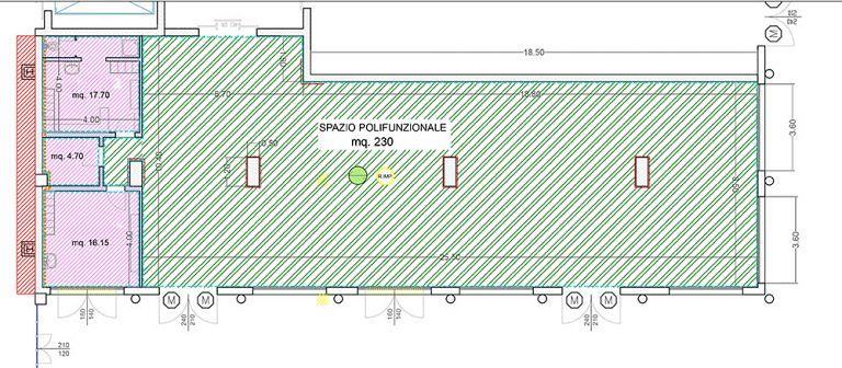 """Sant'Egidio, il Comune """"crea"""" palestra e spazio per attività di gruppo nel Centro Fieristico"""