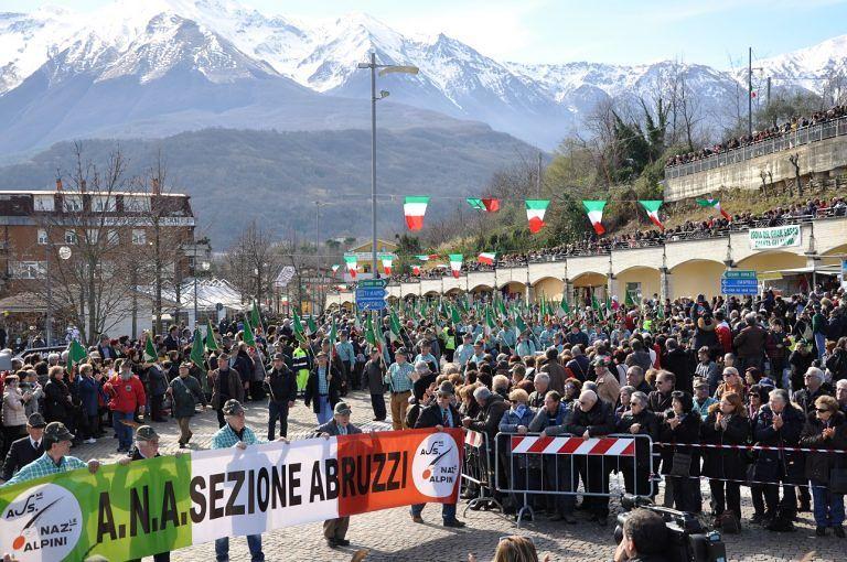 Attesi oltre diecimila alpini per il raduno abruzzese: appuntamento al Santuario di San Gabriele