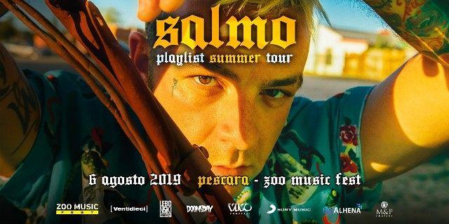 Zoo Music Fest, è Salmo il terzo artista annunciato per la nuova edizione