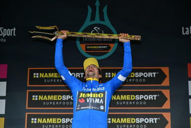 Lo sloveno Roglic vince la 54esima Tirreno-Adriatico, Yates beffato per 31 centesimi