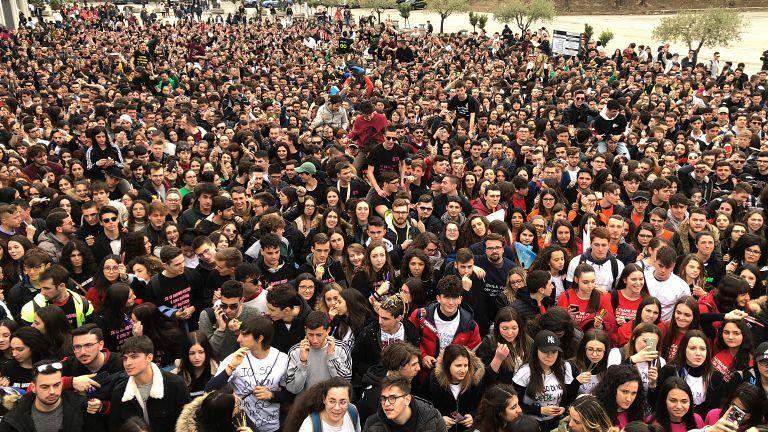 Cento giorni agli esami, migliaia di studenti al Santuario di San Gabriele FOTO VIDEO