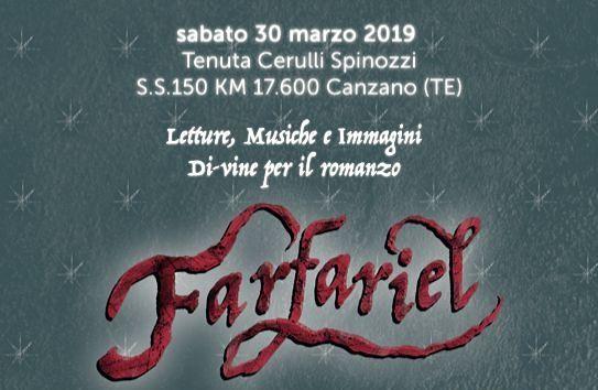 A Canzano la presentazione del romanzo Farfariel