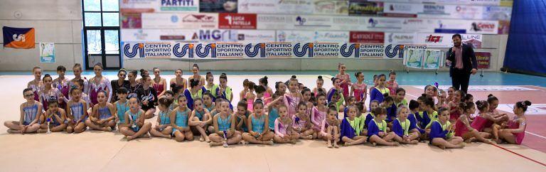 Ginnastica ritmica: nel Campionato regionale a Montorio, 57 titoli alle atlete abruzzesi