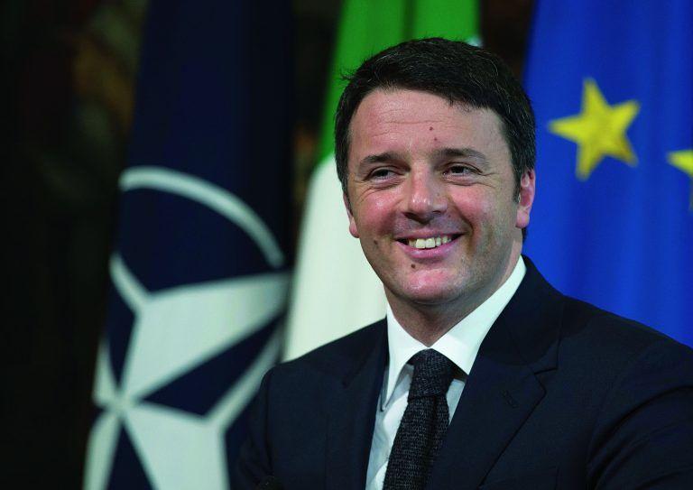 Pescara, Matteo Renzi presenta il suo libro