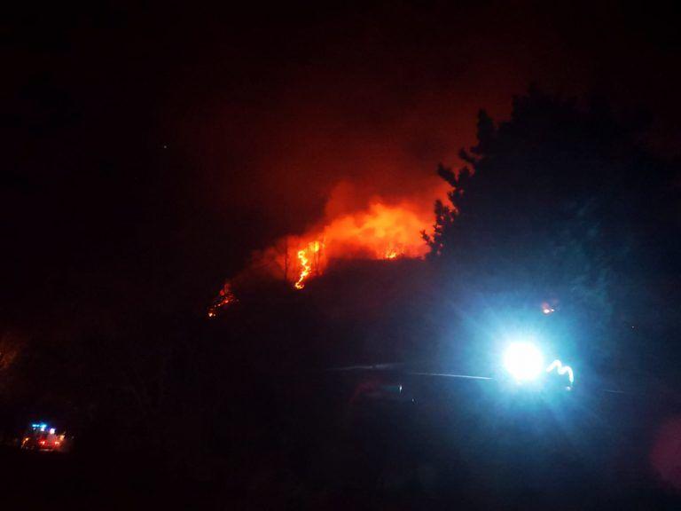 Incendi di sterpaglie e vegetazione: focolai a Campli, Roseto, Teramo e Cermignano FOTO VIDEO