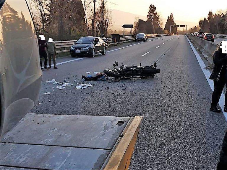 Mosciano, muore in ospedale dopo l'incidente in moto