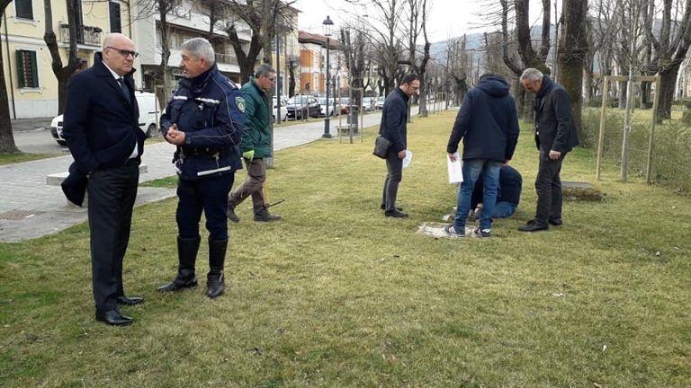 Avezzano, sei nuove telecamere in piazza Torlonia