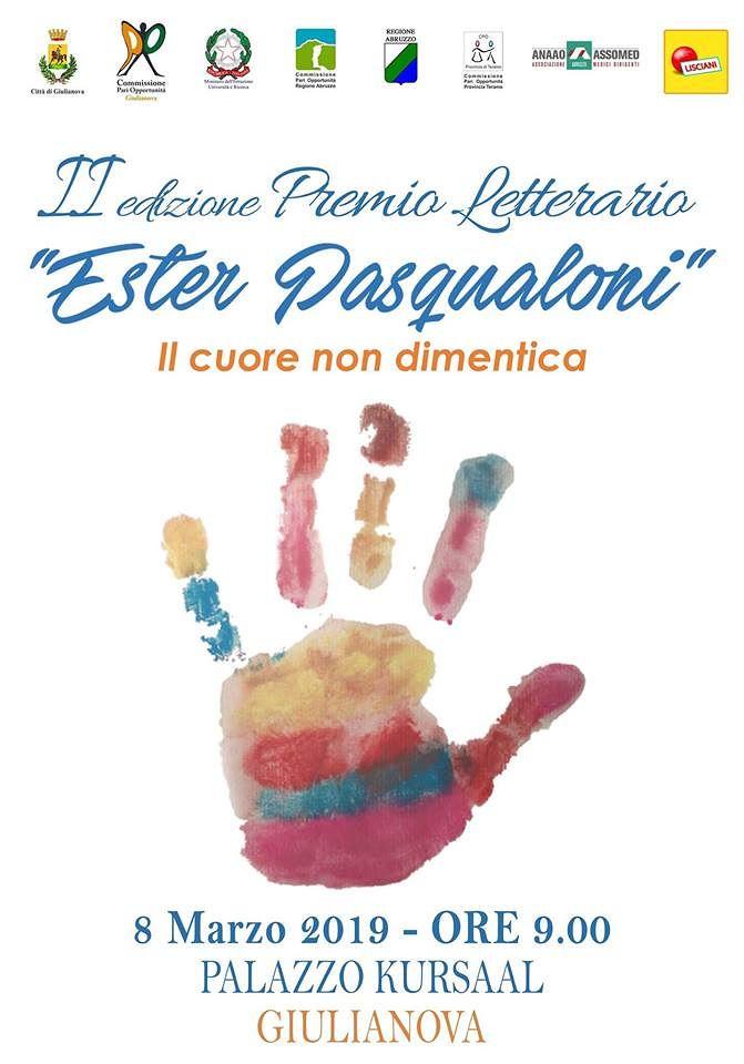 Giulianova, seconda premiazione del concorso dedicato ad Ester Pasqualoni