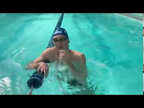 Manuel Bortuzzo torna in piscina – Video