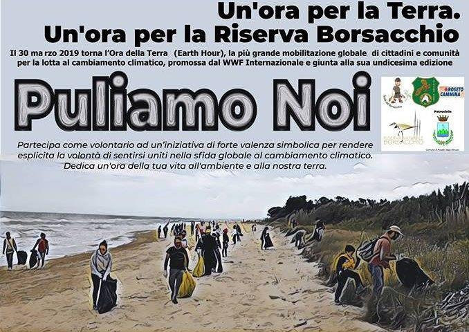 L'Ora della Terra in Abruzzo dura tutto il giorno: pulizia delle spiagge in 4 località