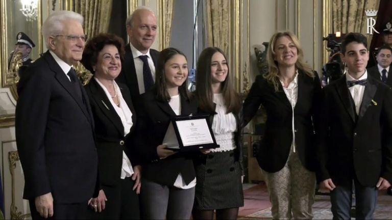 Teramo, Mattarella premia il Liceo Delfico FOTO