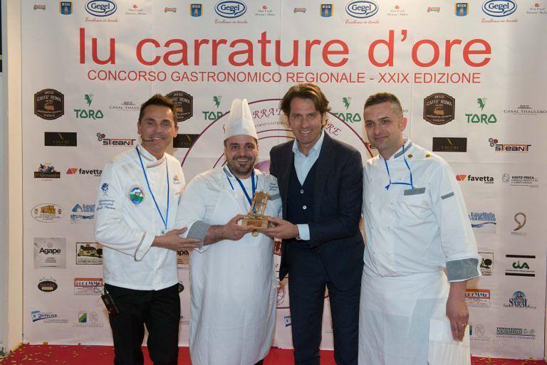 Pescara, 'Lu Carrature d'Ore': vince lo chef Valerio Fiori