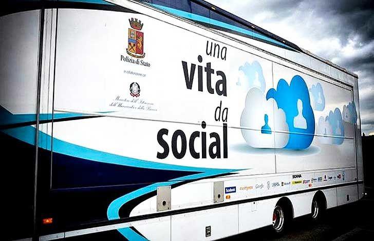 Roseto, in arrivo il truck della Polizia per 'Una vita da social'
