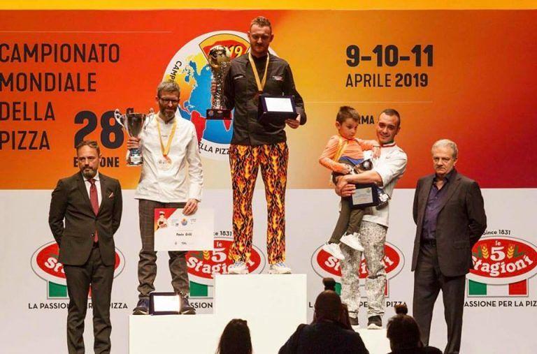 Cepagatti, la Made in Italy di D'Intino è la pizza campione del mondo
