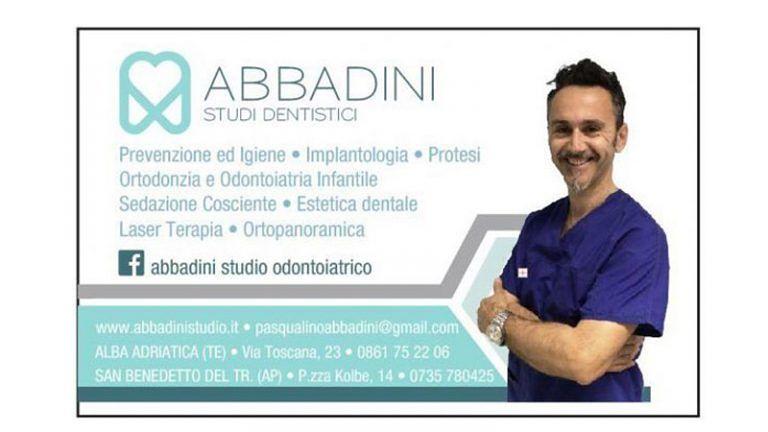 OTTOBRE-MESE DELLA PREVENZIONE DENTALE Studi ODONTOIATRICI del Dott. Abbadini! Approfitta per Te e la tua Famiglia