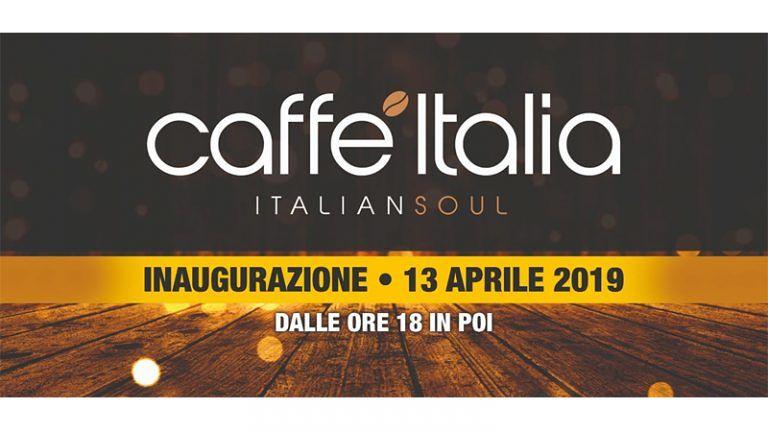 Apre a Tortoreto Lido CAFFE' ITALIA 'Italian Soul' Inaugurazione Sabato 13 aprile dalle 18:00 in Poi⚡ Live Concert ore 21:00