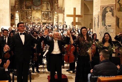 Atri, decennale sisma L'Aquila: cattedrale gremita per il Requiem di Mozart