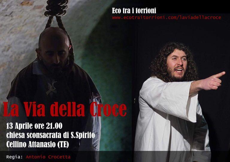 Cellino Attanasio: torna la Via Crucis figurata