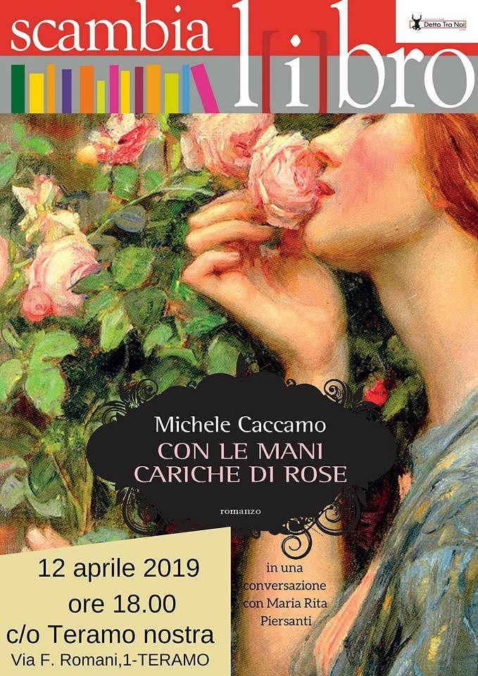 Teramo, ospite dello Scambialibro di aprile è Michele Caccamo