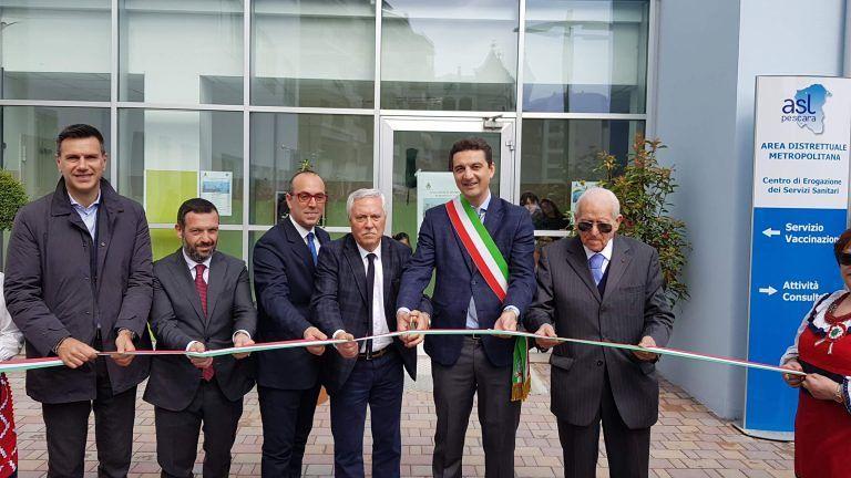 Montesilvano, dopo 24 anni inaugurato il distretto sanitario