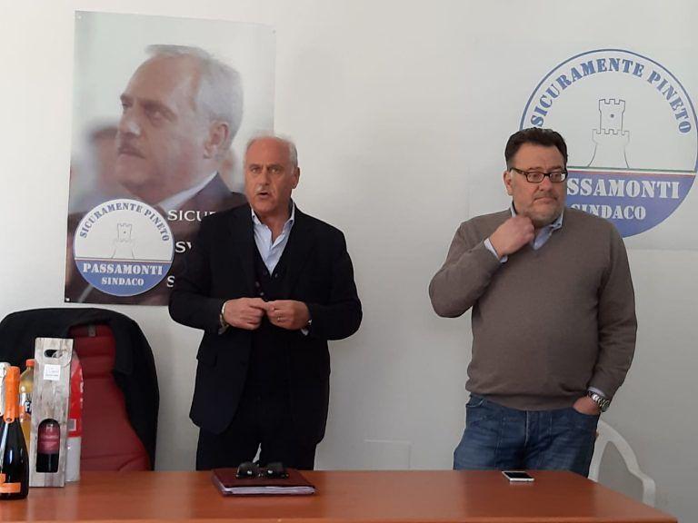 """Pineto, inaugurata la sede del candidato sindaco Passamonti: """"Ci candidiamo per vincere"""""""
