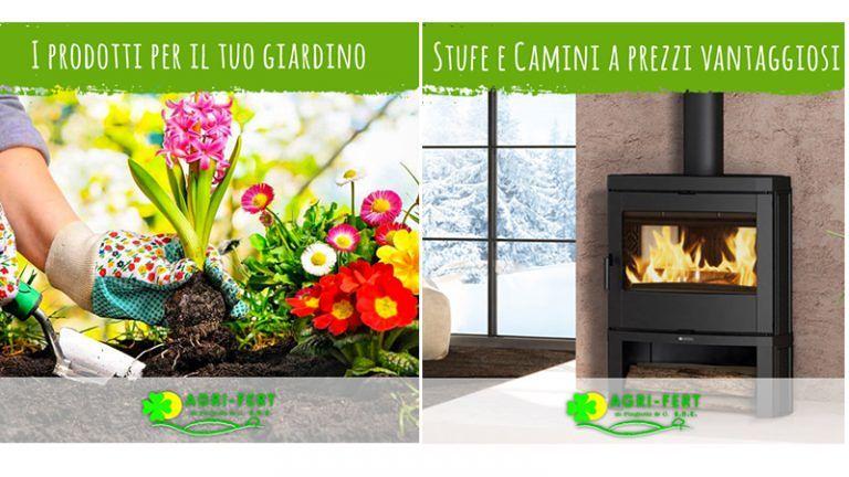 AGRI-FERTdi Pingiotti& Co Allestisci il Tuo Giardino e non perderti le occasioni per il tuo caldo interno