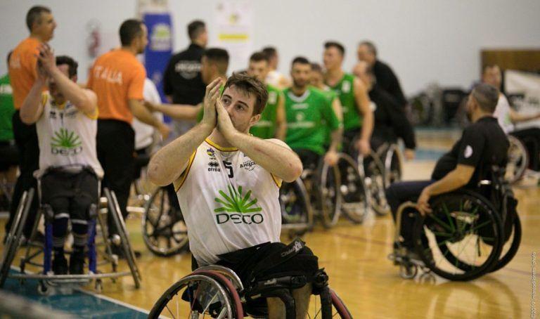 Basket in carrozzina, l'Amicacci perde ancora contro Santo Stefano e saluta i play off