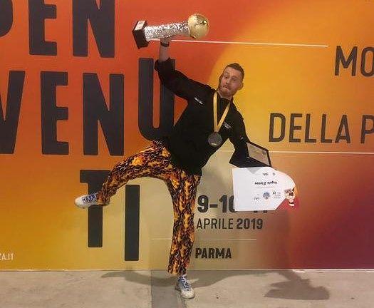 È pescarese il campione mondiale di pizza in teglia