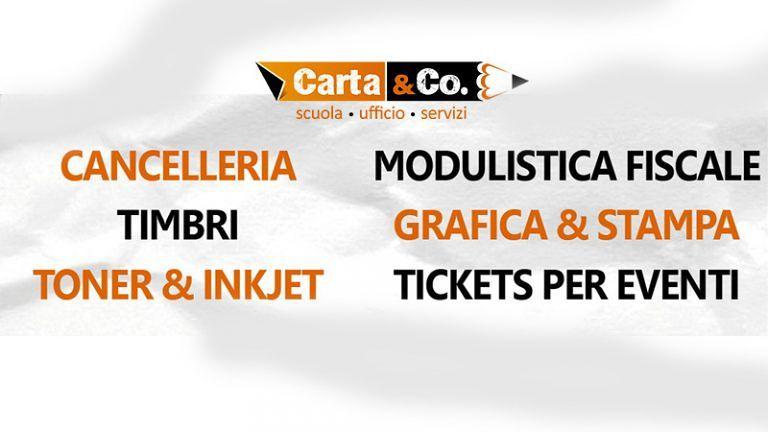 CARTOLERIA CARTA & CO Via Adriatica, 74 Alba Adriatica (TE)Vendita al dettaglio ed all'ingrosso Consegne a domicilio