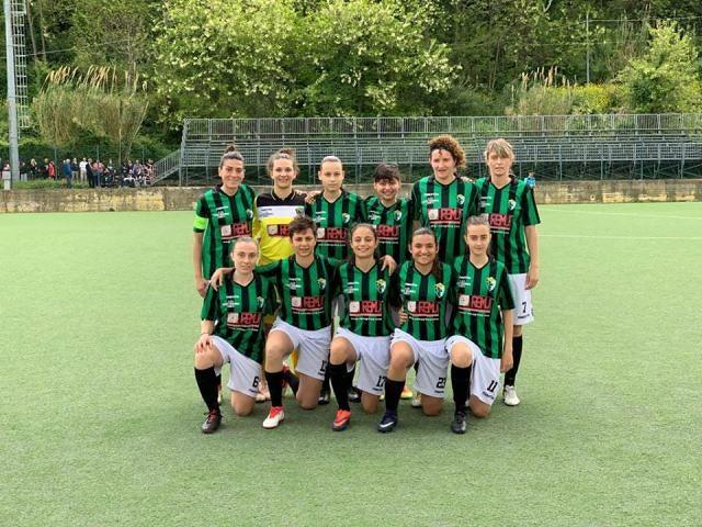 Terza vittoria consecutiva per il Chieti Calcio Femminile nell'ultima di campionato con l'Apulia Trani
