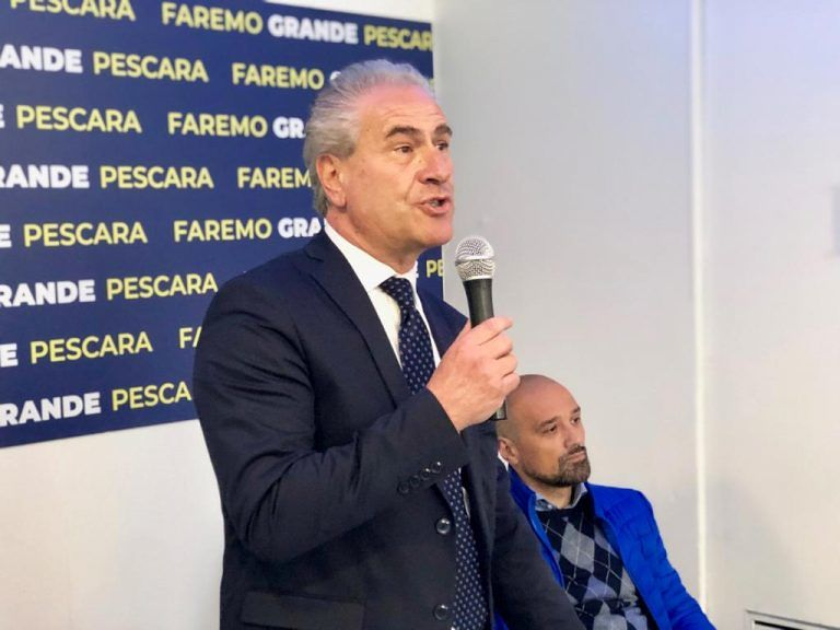 """Comunali, Costantini: """"Sindaco senza alleanze, i partiti non sono il bene di Pescara"""""""