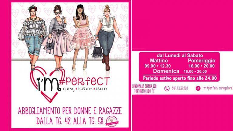 I'M PERFECT CURVY STORE Abbigliamento Donna Lungomare Sirena, 138 Tortoreto Lido