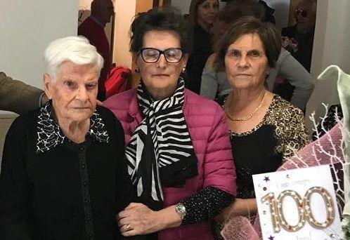 Montesilvano, 100 anni per Jolanda Santavenere
