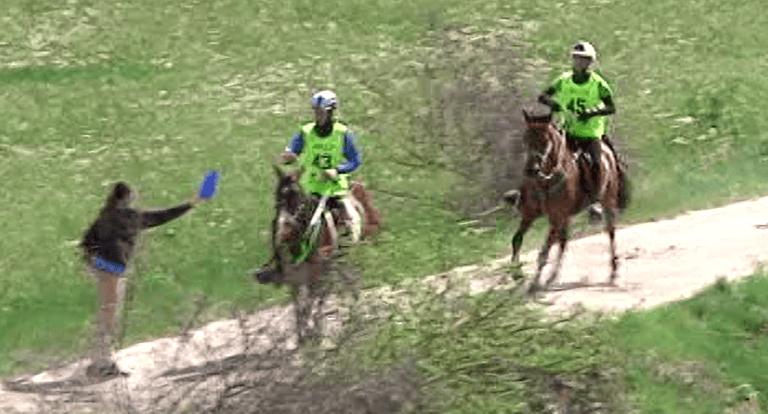 Vittorito, successo internazionale per i campionati di endurance a cavallo VIDEO