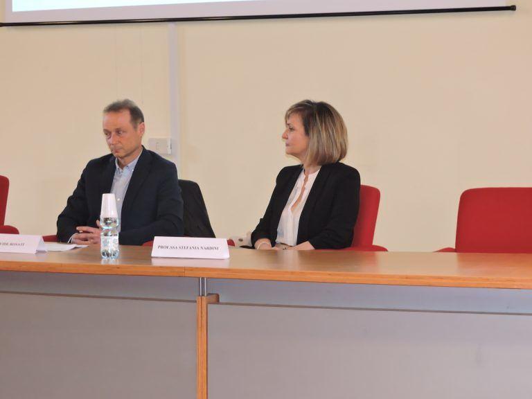 """All'Alessandrini l'incontro con Davide Rosati su """"Bullismo e cyberbullismo"""" FOTO"""