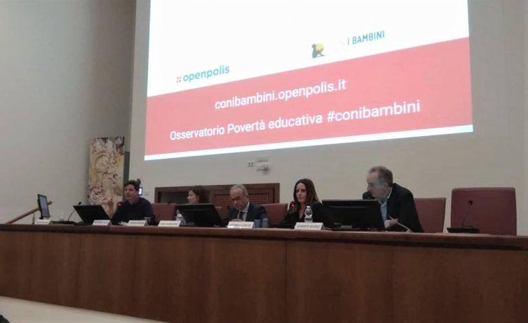 Il progetto Radici presentato a Roma al Rapporto nazionale sulla povertà educativa minorile FOTO