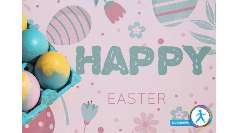 HAPPY EASTER dalla Helen Doron Ed. Group 'Ogni lingua vale per augurare BUONA PASQUA, sorrisi e belle sorprese!'