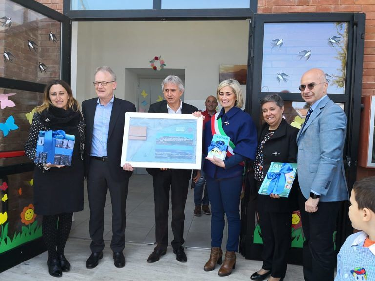 Villa Lempa, inaugurata la biblioteca scolastica realizzata grazie alla solidarietà della Pilkington