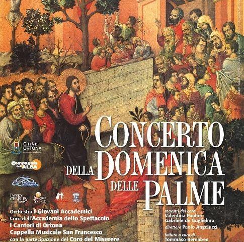 """""""Concerto della domenica delle palme"""" al Teatro Tosti di Ortona"""