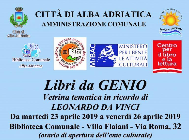 """Alba Adriatica, """"maggio dei libri"""": al via le iniziative in biblioteca"""
